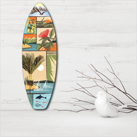 Ply Surfboard Art - NZ Scene