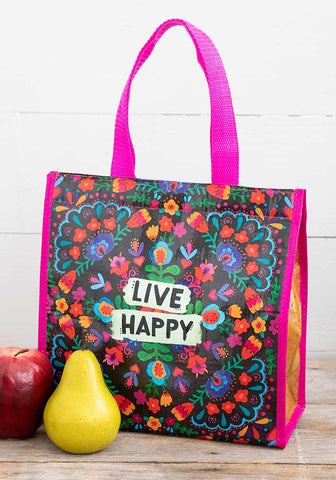 Insulated lunch Bag - Live happy