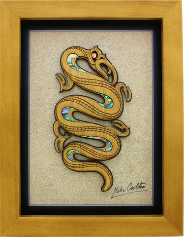 Framed Art - Large Framed Eel