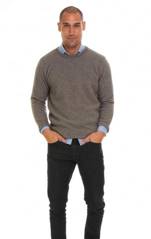 Merino Possum Crew Neck Jumper