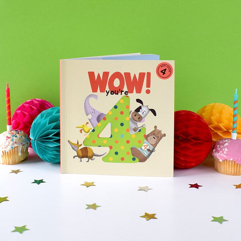 Birthday Book - Wow! You are 4