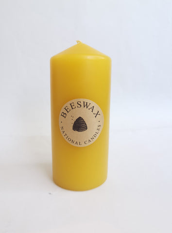 Beeswax Candle 65 x 150mm NZ Made