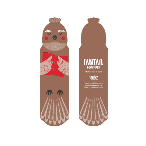 NZ Cuties Fantail Bookmark