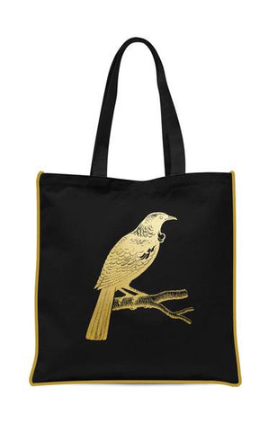 Gold Foil Tui Tote Bag