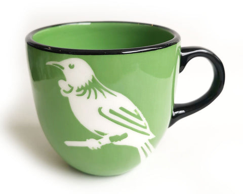 Green Tui Ceramic Mug