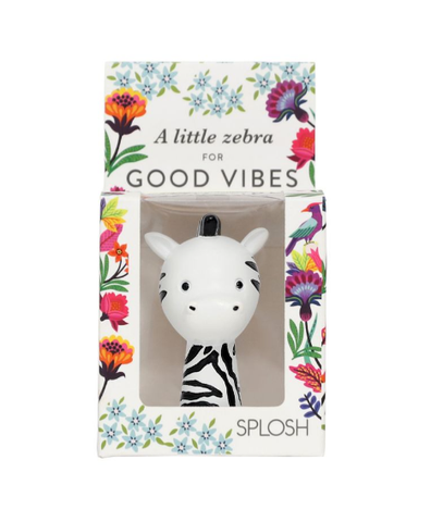 Good Vibe Zebra Meaningful Mini