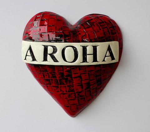 Super Aroha Heart Ceramic