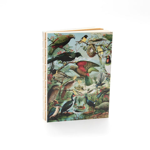 NZ Native Birds Notebook 100% NZ