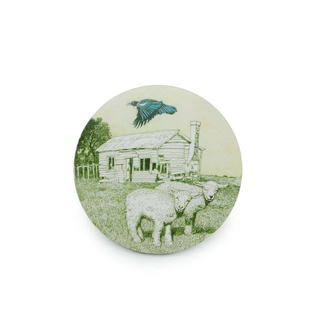 Coaster - Vintage Tui &Sheep Round