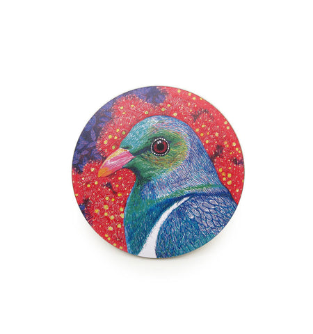 Thirsty Coasters - Kereru