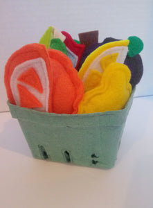 Handmade Felt Fruit