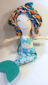 Yarnalious Mermaid in Blue