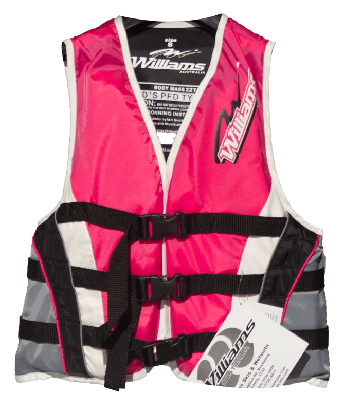 Williams Nylon Kids Vest-Skiforce Australia