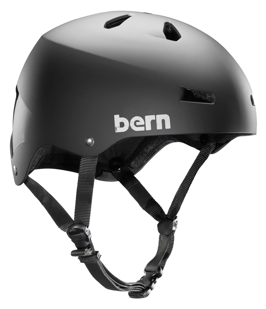 Bern Macon H2O Black Helmet-Skiforce Australia