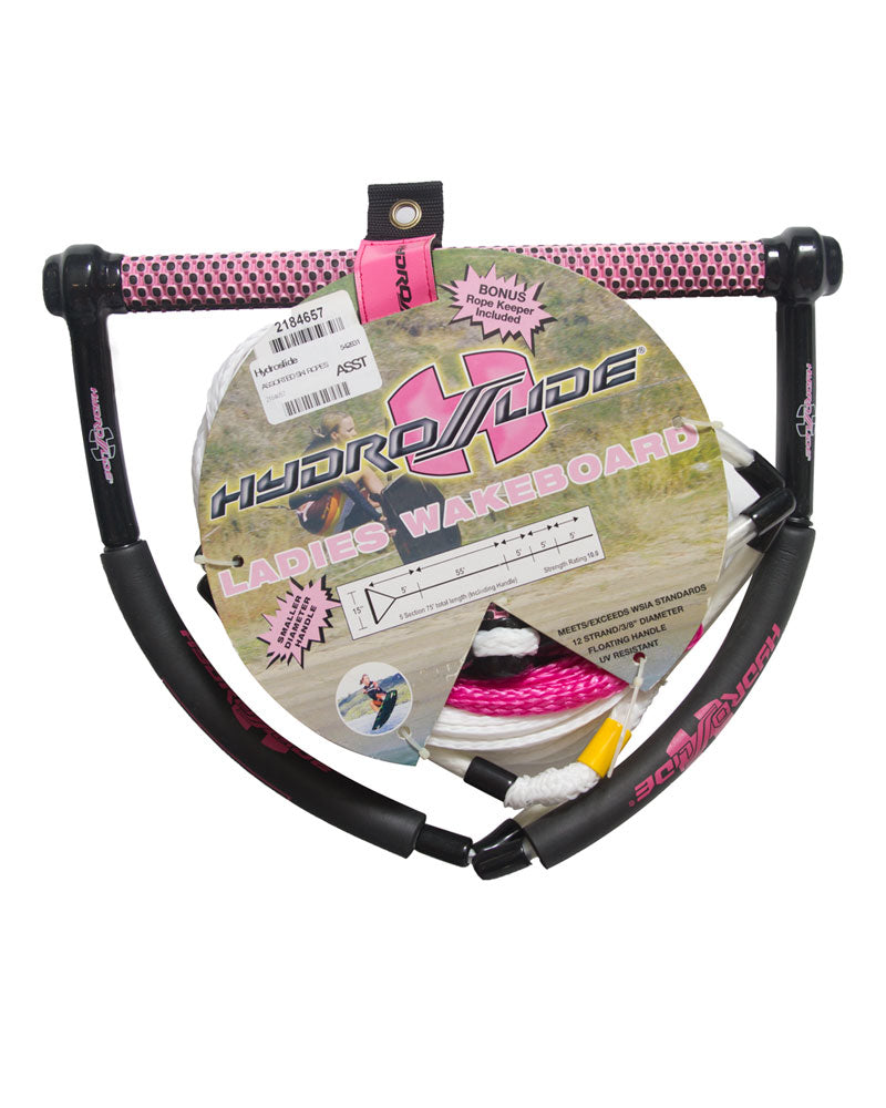 Hydroslide Wake Ladies w/ V-Grip Rope and Handle Package-Skiforce Australia
