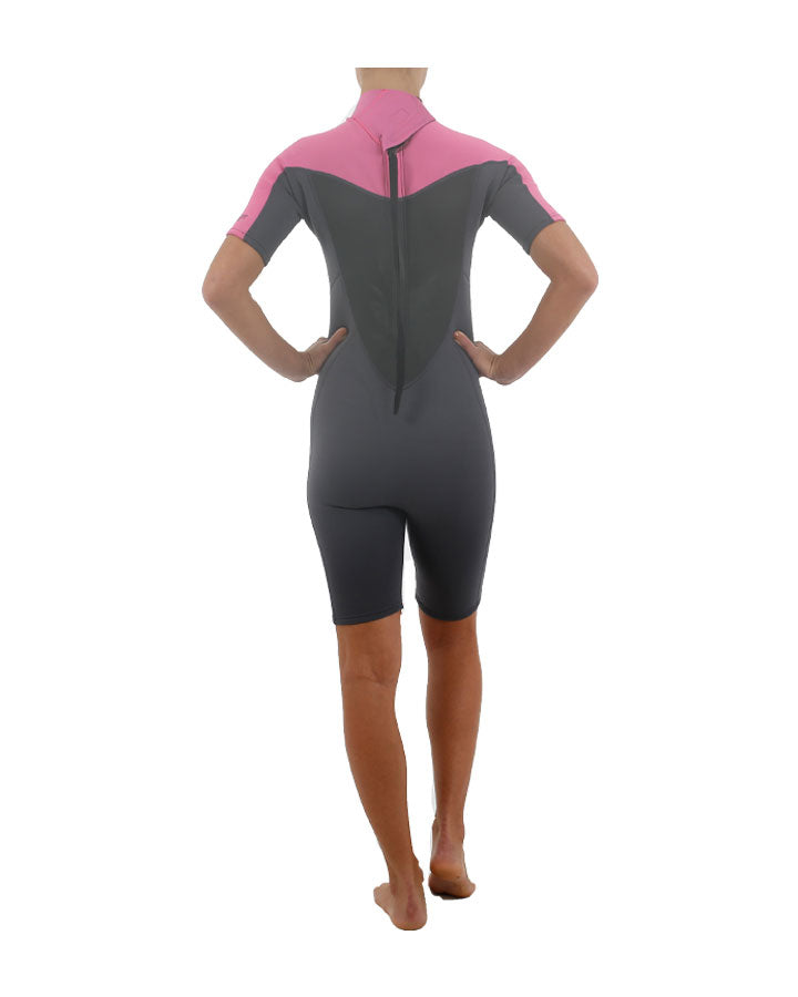 Jetpilot Flight 2x2 SS Womens Springsuit-Skiforce Australia