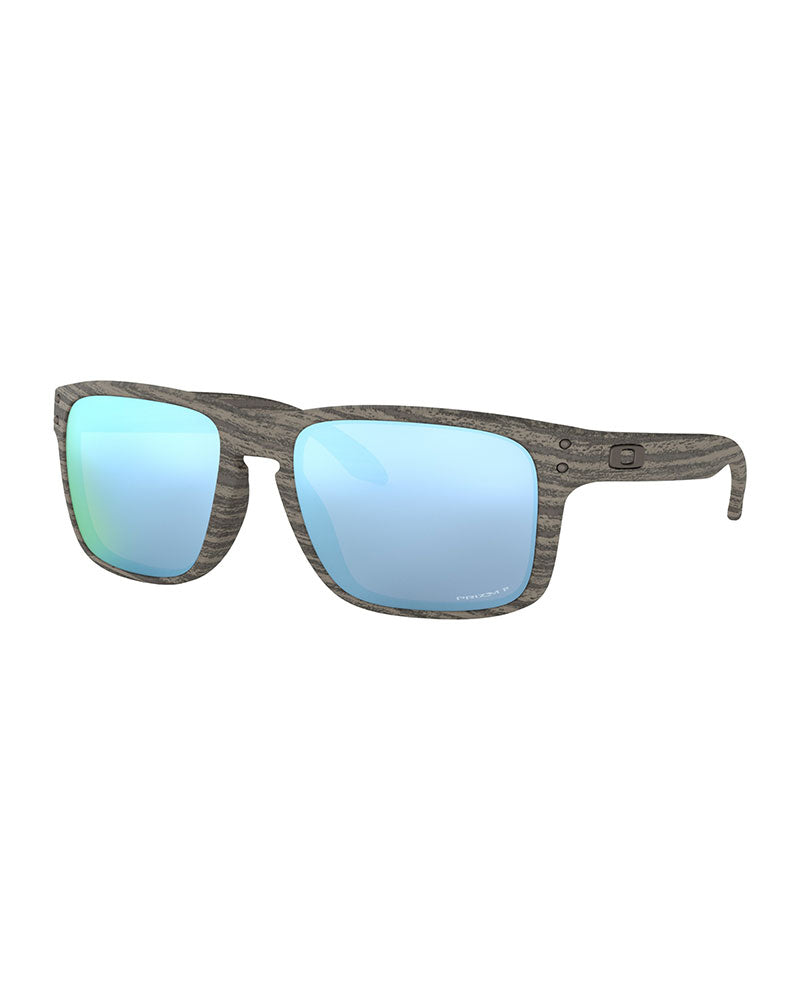 Oakley Holbrook Woodgrain w/ Prizm Deep Water Polarised-Skiforce Australia