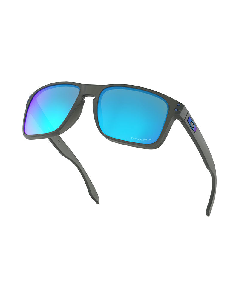 Oakley Holbrook XL Grey Smoke w/ Prizm Sapphire Polarised-Skiforce Australia