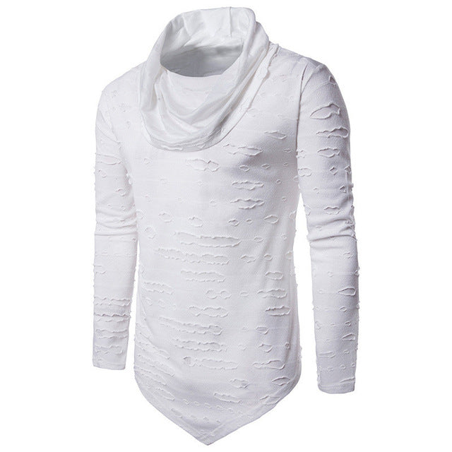 8aa68e80adf706 TRENDY RIPPED COTTON T-SHIRT – Sydney Casuals