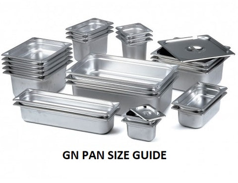 GN PAN SIZE GUIDE