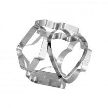 CHEF INOX COOKIE CUTTER-MULTI SIDED S/S 55mm - Catering Sale