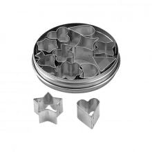 CHEF INOX CUTTER SET-ASPIC 12pc SIZE: 15mm - Catering Sale