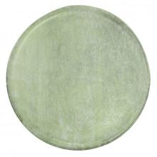 MANGOWOOD SERVING BOARD ROUND 300x15mm GREEN - Catering Sale