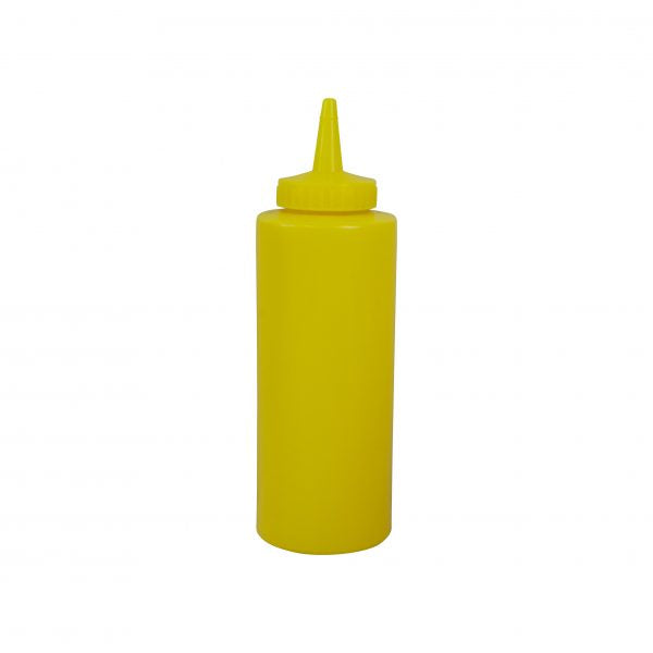 CHEF INOX SQUEEZE BOTTLE-340ml/12oz YELLOW - Catering Sale
