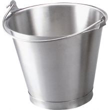 BUCKET-18/8 13.0lt W/BASE - Catering Sale