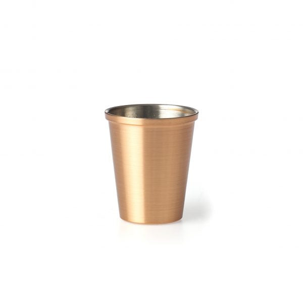 CHEF INOX SAUCE CUP/SHOT CUP-COPPER 60ml - Catering Sale