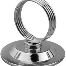 CHEF INOX RING MENU CARD HOLDER 57x52mm - Catering Sale