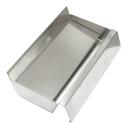 ASHTRAY-FLOOR 300x18x80 S/S W/REMOVABLE TRAY