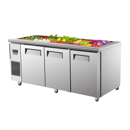 SKIPIO SSR18-3 180mm Salad Side Prep Bench Fridge - Catering Sale