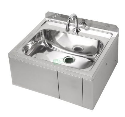 3MK KNEEHB Hands Free Knee Operated Stainless Steel Basin