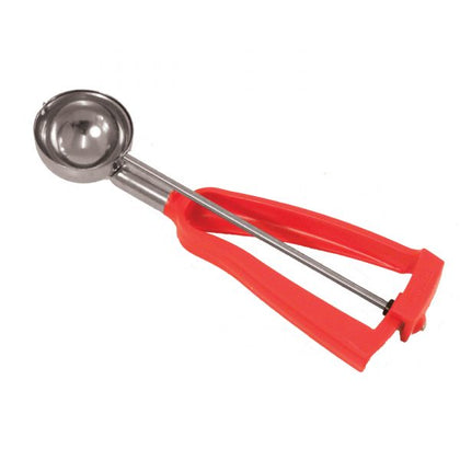 Bonzer ICE-CREAM SCOOP-No.24 RED HANDLE LITEGRIP - Catering Sale