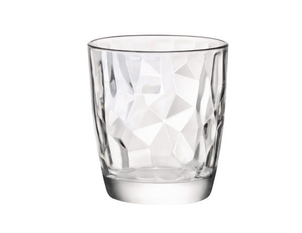 DIAMOND-TUMBLER WATER CLEAR 305ml (24 pcs)