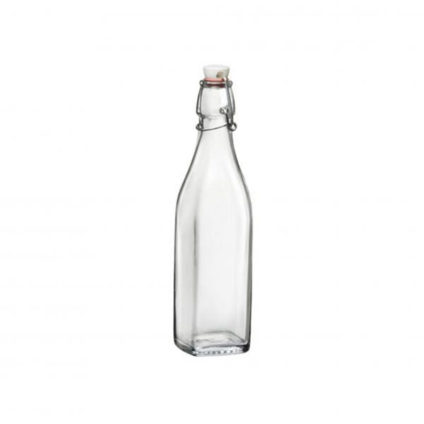 SWING-BOTTLE 0.5lt WHITE TOP (12 pcs) - Catering Sale
