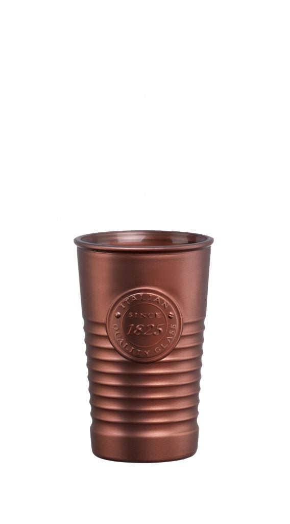 OFFICINA1825-TUMBLER METALIC BRONZE 300ml (6 pcs)