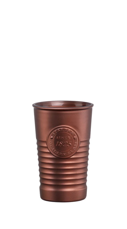 OFFICINA1825-TUMBLER METALIC BRONZE 300ml (6 pcs) - Catering Sale