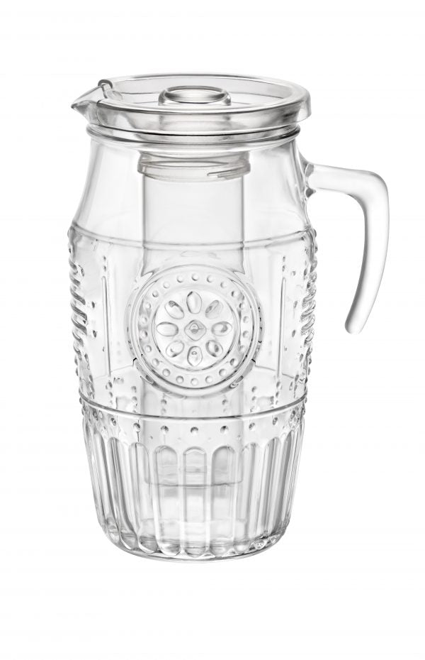ROMANTIC- WATER PITCHER 1.8lt CLEAR (6 pcs)