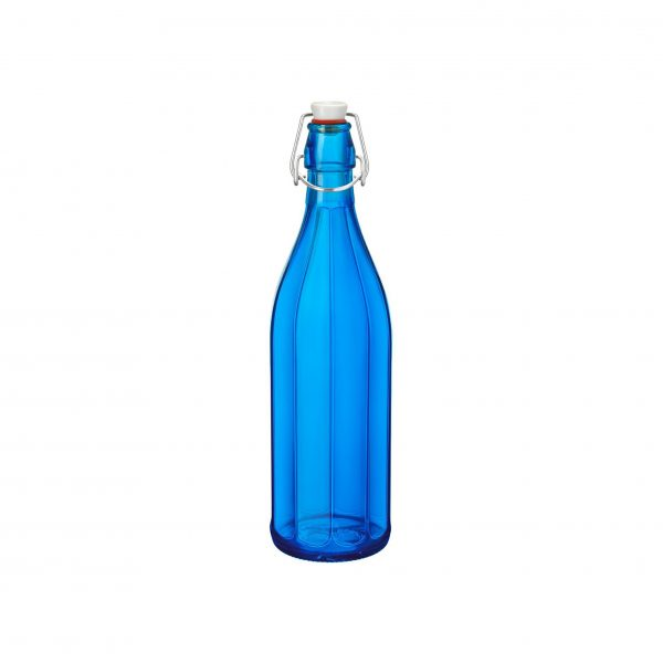 OXFORD-BOTTLE 1.0lt W/TOP DARK BLUE (6 pcs)