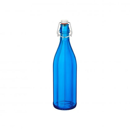 OXFORD-BOTTLE 1.0lt W/TOP DARK BLUE (6 pcs) - Catering Sale