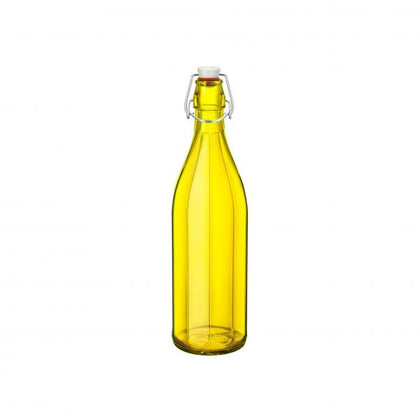 OXFORD-BOTTLE 1.0lt W/TOP YELLOW (6 pcs) - Catering Sale