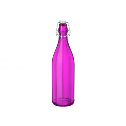 OXFORD-BOTTLE 1.0lt W/TOP FUCHSIA (6 pcs) - Catering Sale