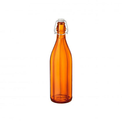 OXFORD-BOTTLE 1.0lt W/TOP ORANGE (6 pcs) - Catering Sale