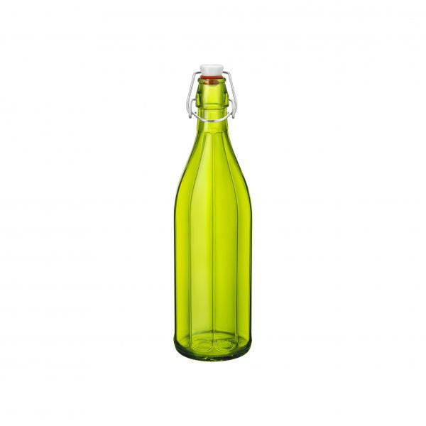 OXFORD-BOTTLE 1.0lt W/TOP GREEN (6 pcs)
