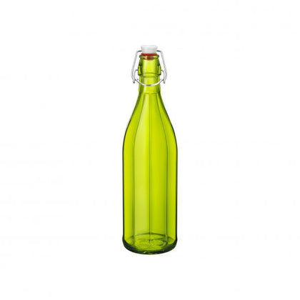 OXFORD-BOTTLE 1.0lt W/TOP GREEN (6 pcs) - Catering Sale