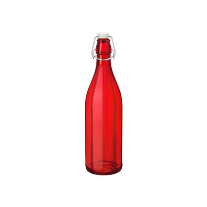 OXFORD-BOTTLE 1.0lt W/TOP RED (6 pcs) - Catering Sale