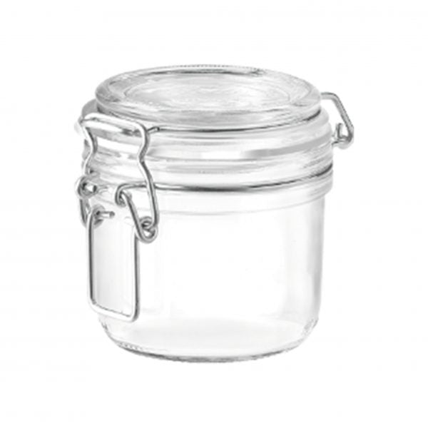 FIDO-JAR TERRINE 0.20lt CLEAR LID (1.41360) (12pcs)