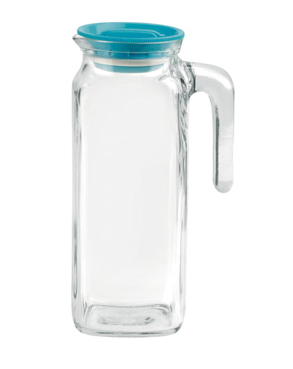 FRIGOVERRE-JUG W/BLUE LID 228x88mm, 1.0lt (6 pcs) - Catering Sale